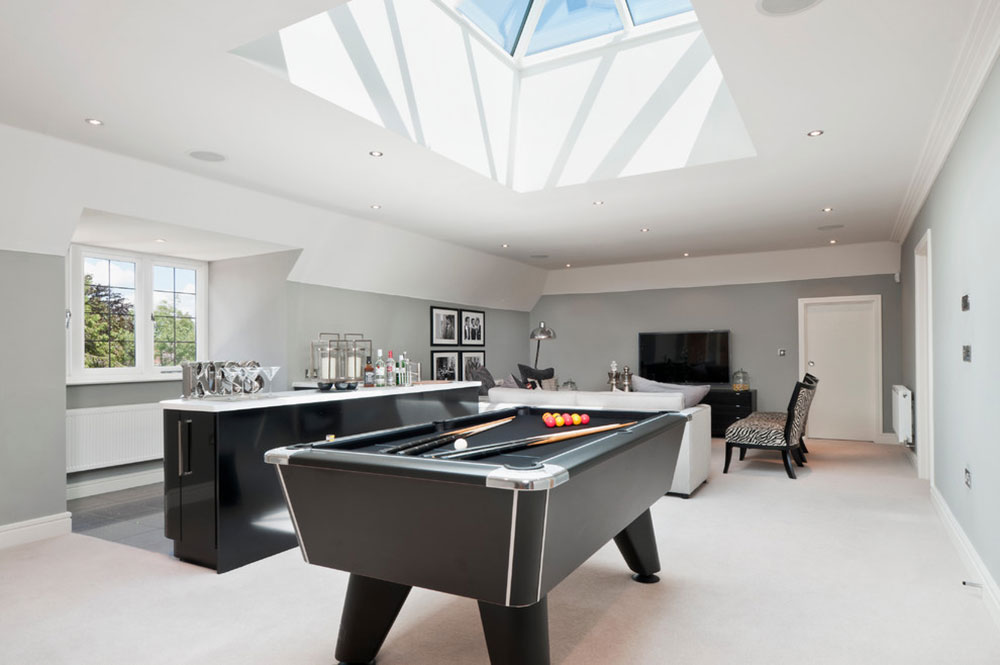Fully Equipped Game Room Ideas