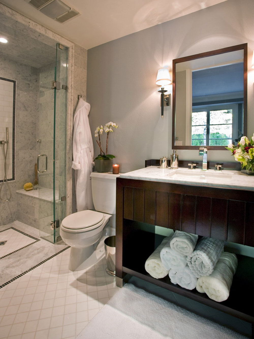 Modern Bathroom Ideas To Impress Your Guests1 Powder Room Ideas Powder Room Ideas