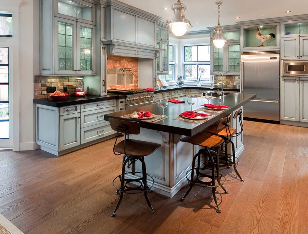 Modern Kitchen Backsplash Ideas10 Modern Brick Backsplash Kitchen Ideas