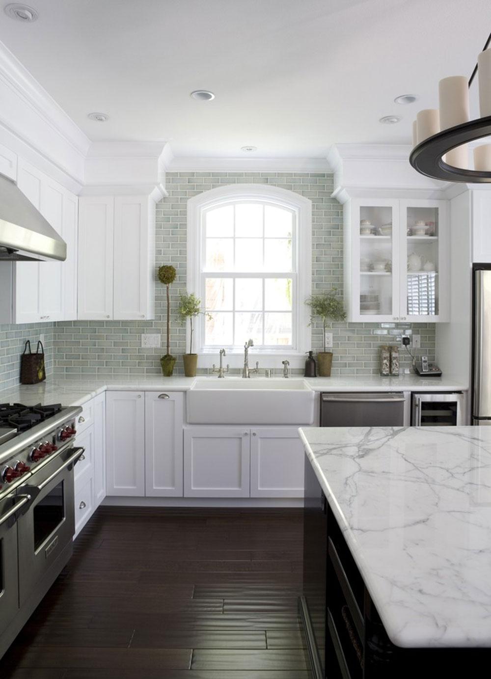 Modern Kitchen Backsplashes Modern Brick Backsplash Kitchen Ideas