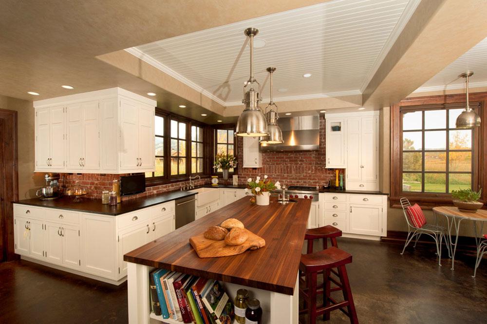 Red Brick Kitchen Backsplash Part - 26: Modern-Kitchen-Backsplash-Ideas5 Modern Brick Backsplash Kitchen Ideas