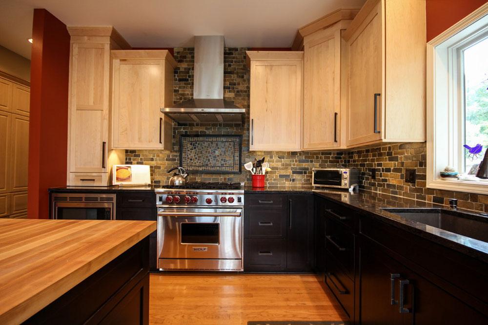 Modern Kitchen Backsplash Ideas6 Brick Ideas