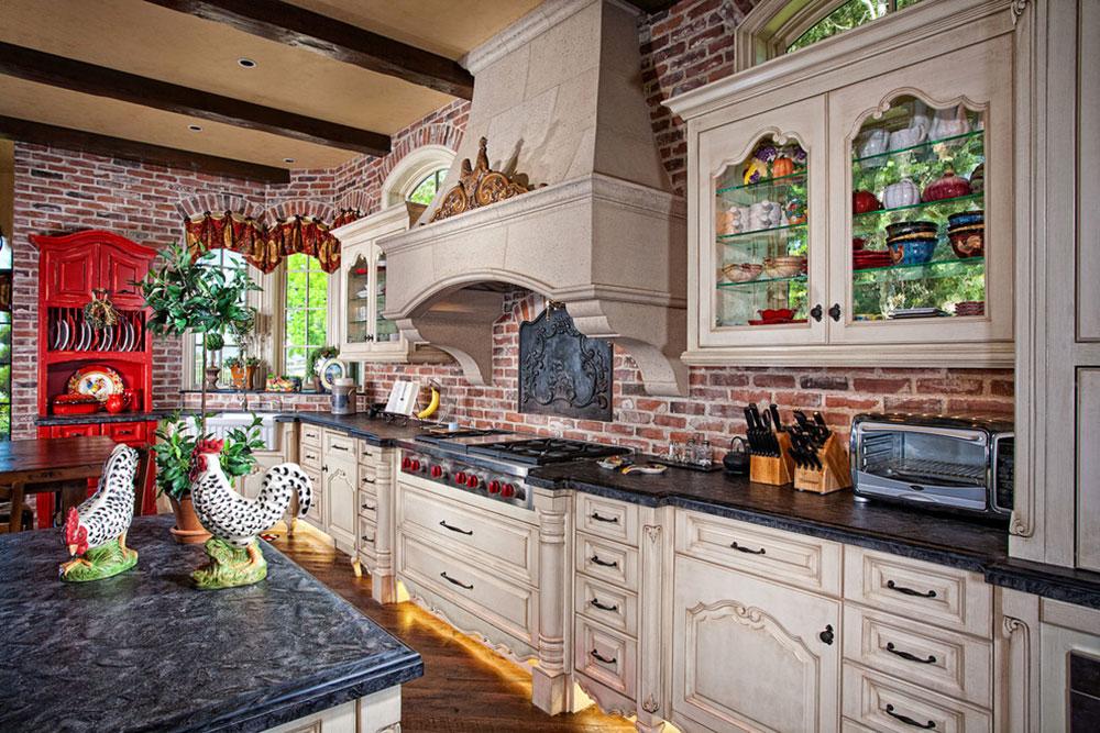 Modern Kitchen Backsplash Ideas9 Brick Ideas
