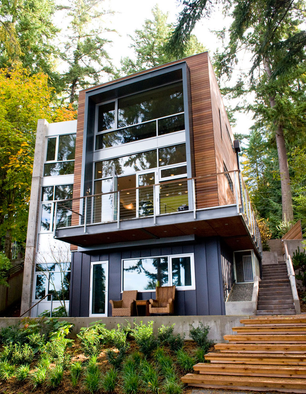 shipping container homes that are as cozy as regular ones
