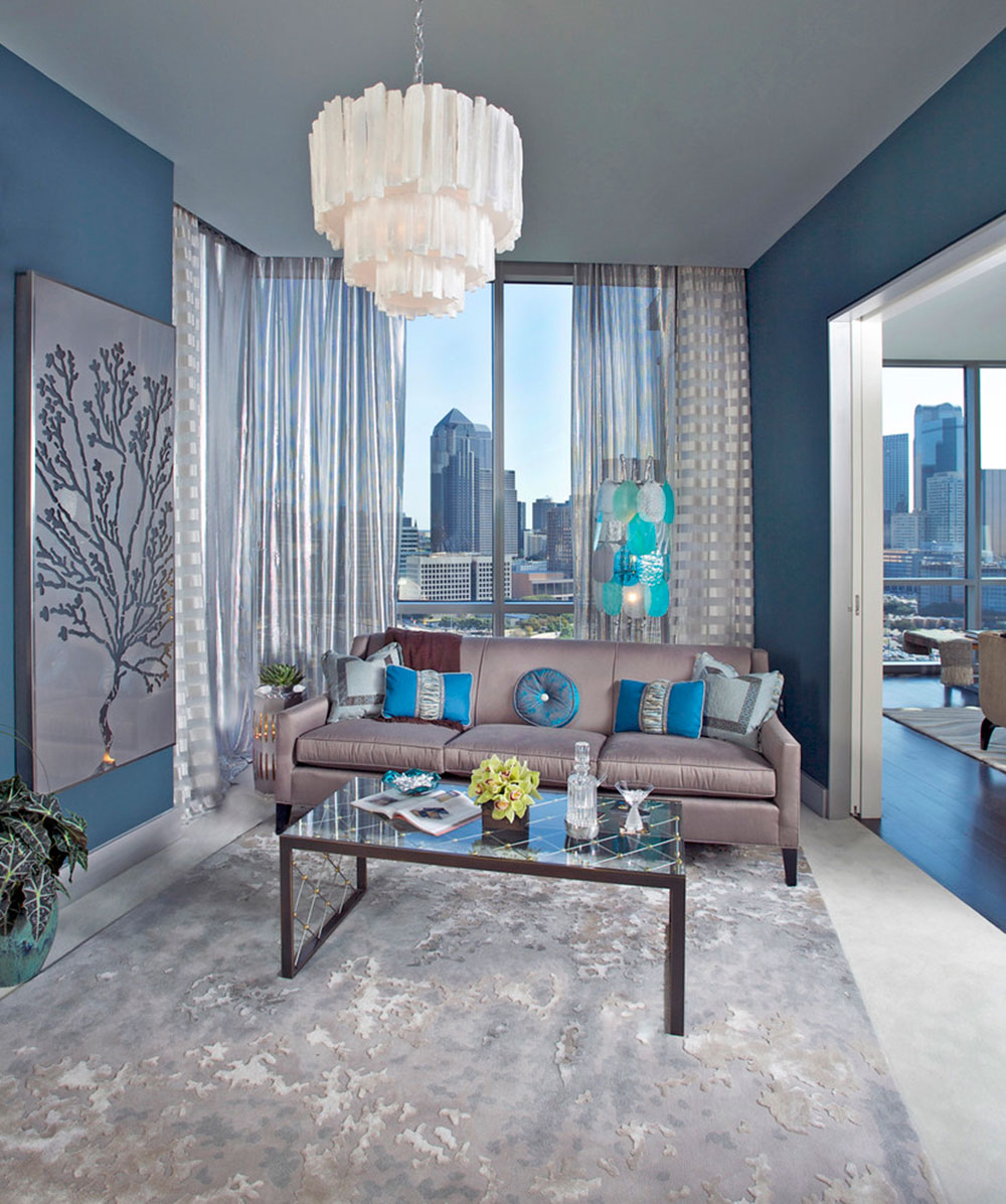 latest trends for blue living room designs rh impressiveinteriordesign com