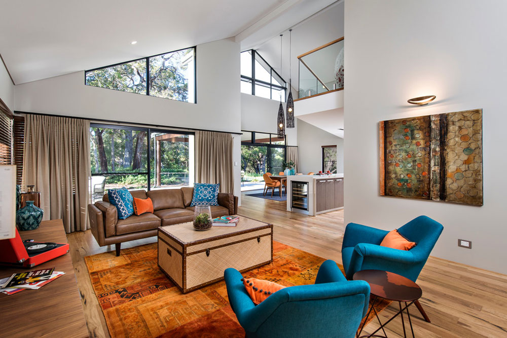 . Latest Trends For Blue Living Room Designs