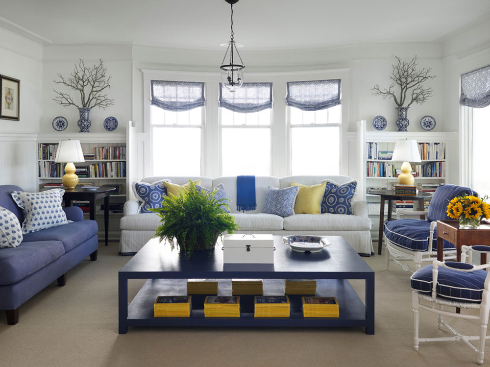 New Trend For Blue Living Room11 Latest Trends