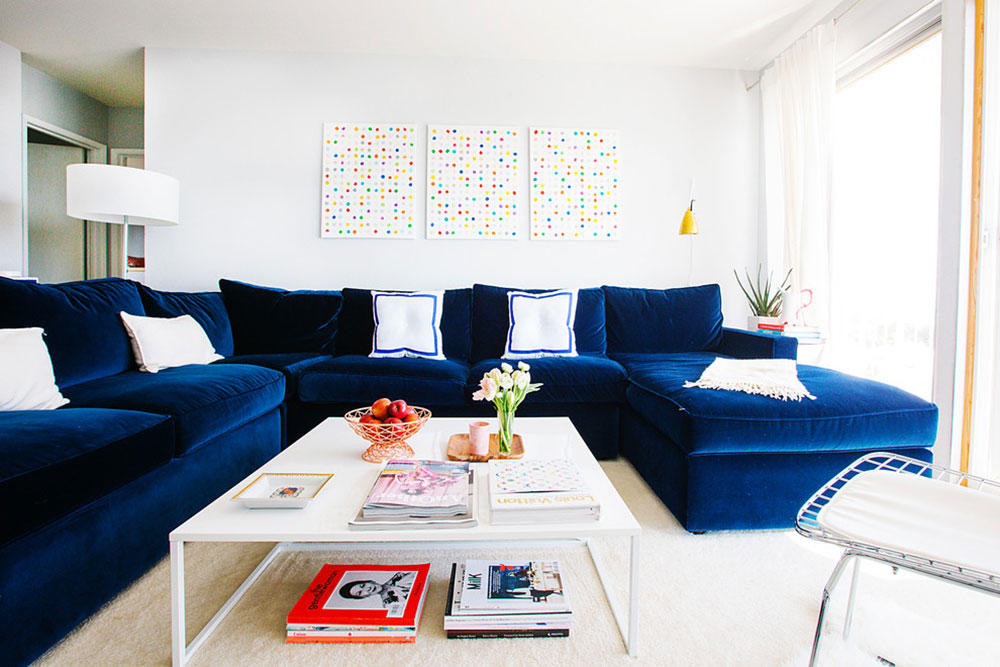 New Trend For Blue Living Room13 Latest Trends