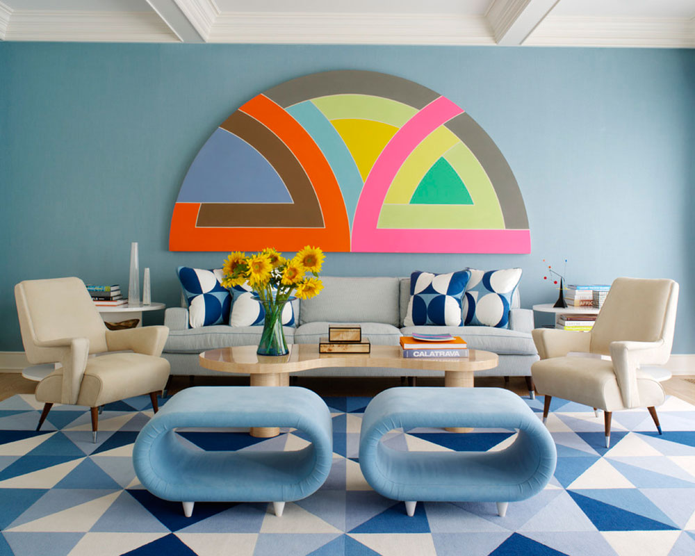New Trend For Blue Living Room14 Latest Trends