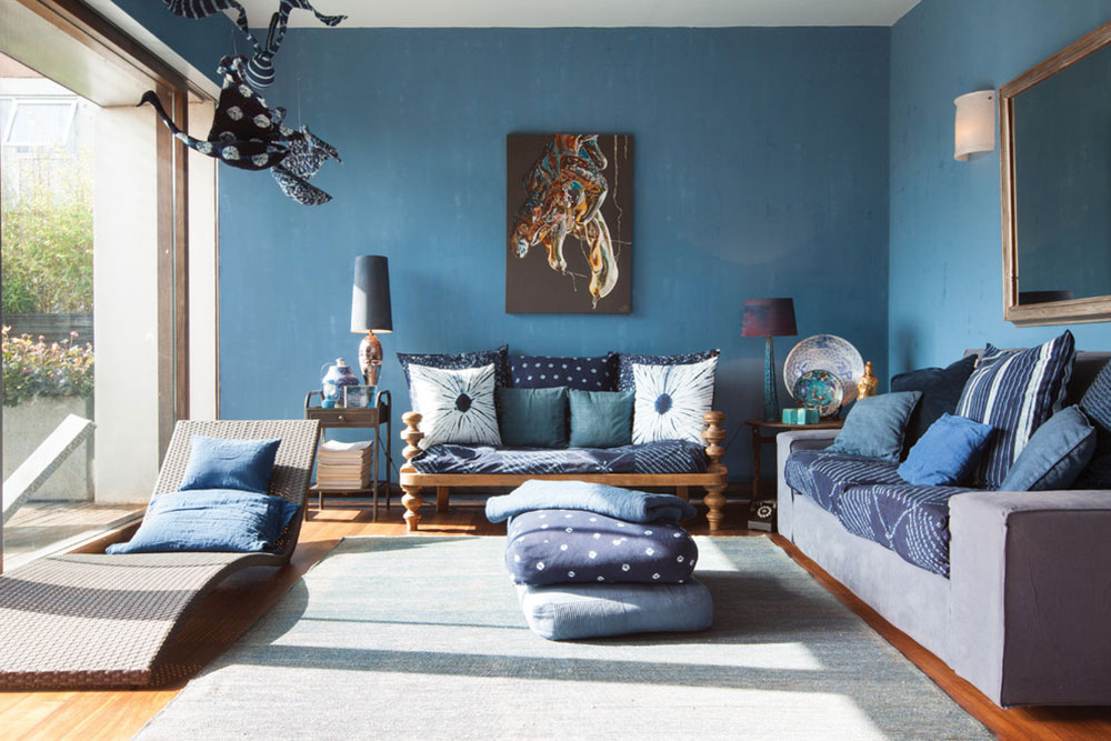 New Trend For Blue Living Room6 Latest Trends