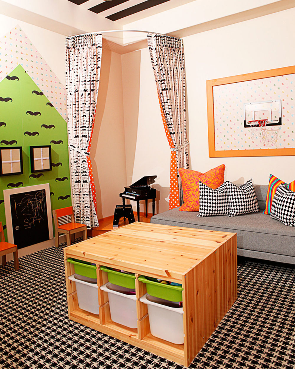 Smart Organizational Ideas For Kids Playroom1 To Organize The