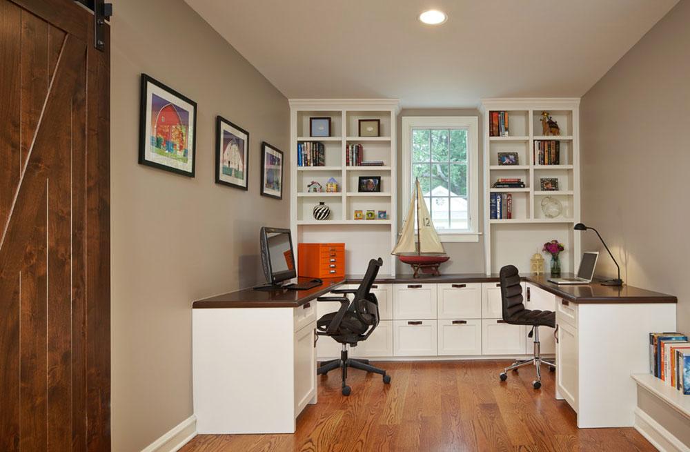 Two Person Desk Design Ideas And