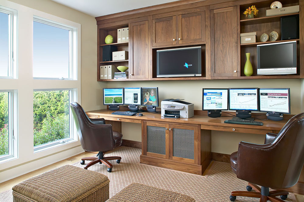 Two Person Desk Design Ideas And Solutions For