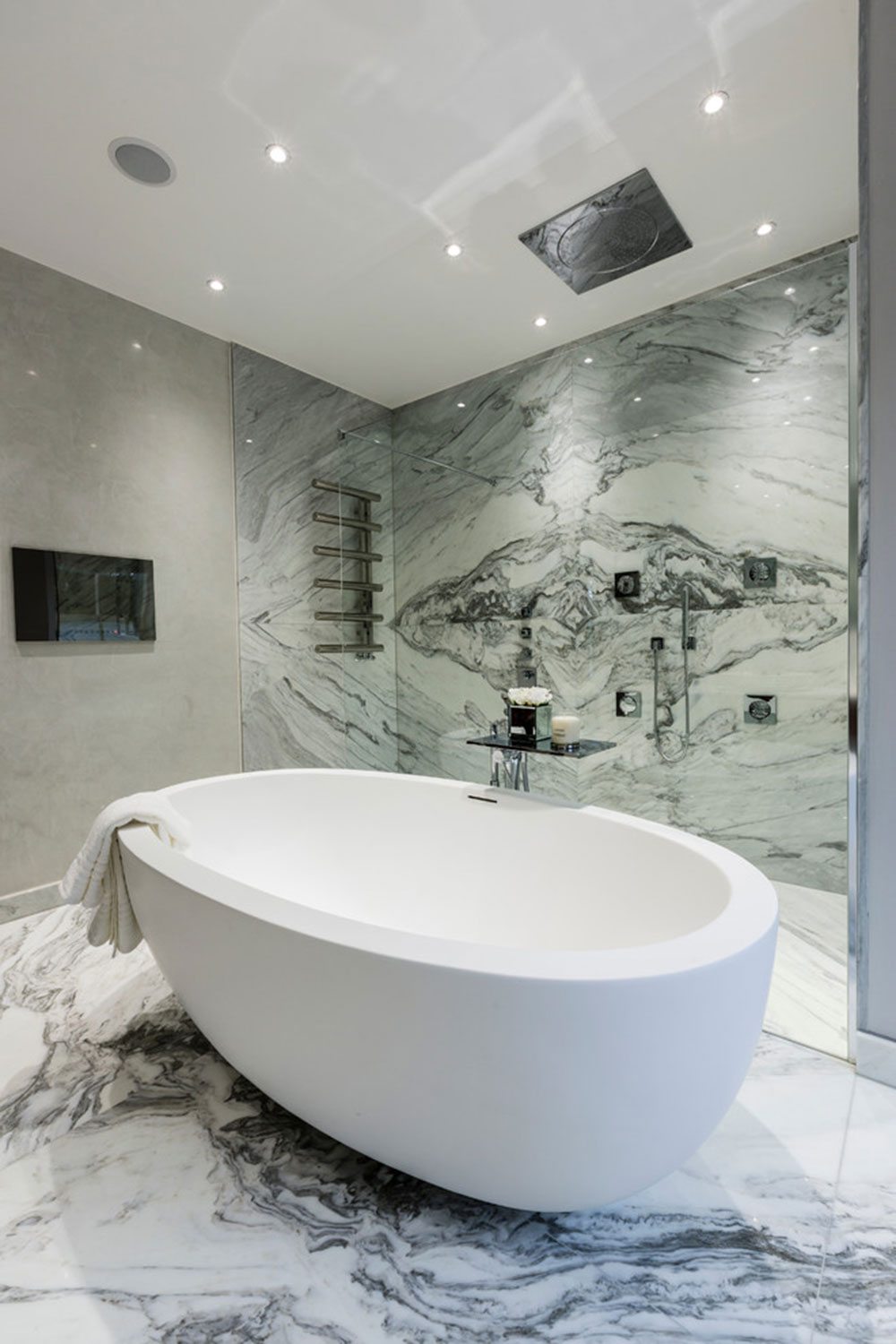 Warm Houses With These Marble Bathroom Design Ideas10 Beautify
