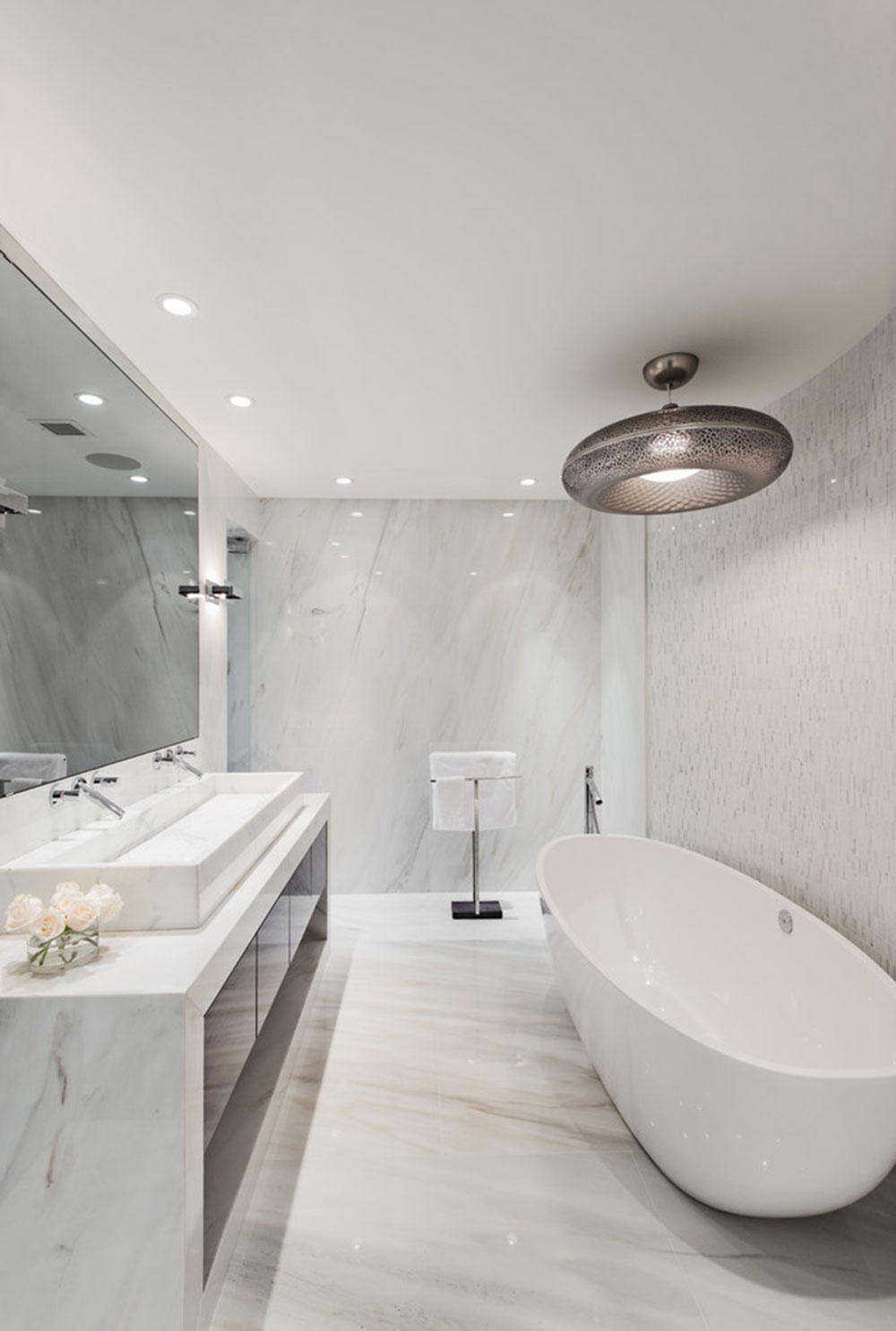 Merveilleux Warm Houses With These Marble Bathroom Design Ideas11 Beautify