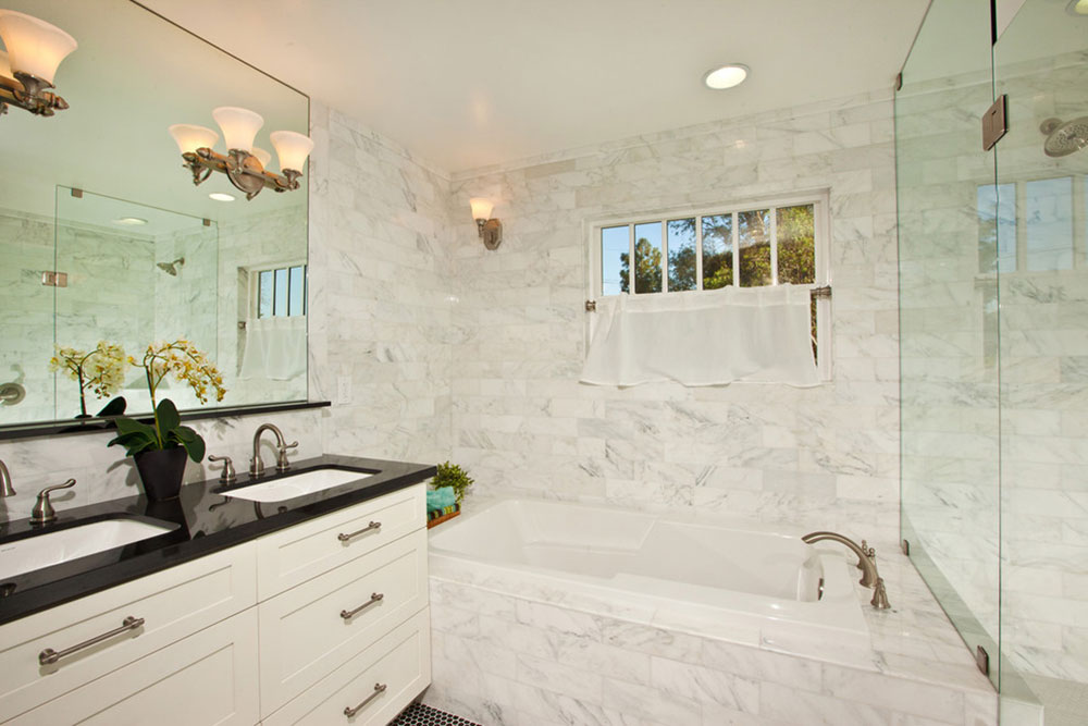 Warm Houses With These Marble Bathroom Design Ideas13 Beautify