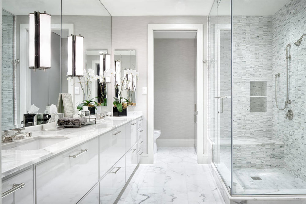 Warm Houses With These Marble Bathroom Design Ideas14 Beautify
