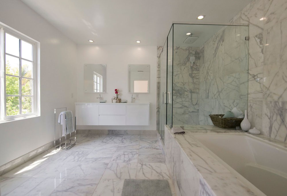 Warm Houses With These Marble Bathroom Design Ideas3 Beautify