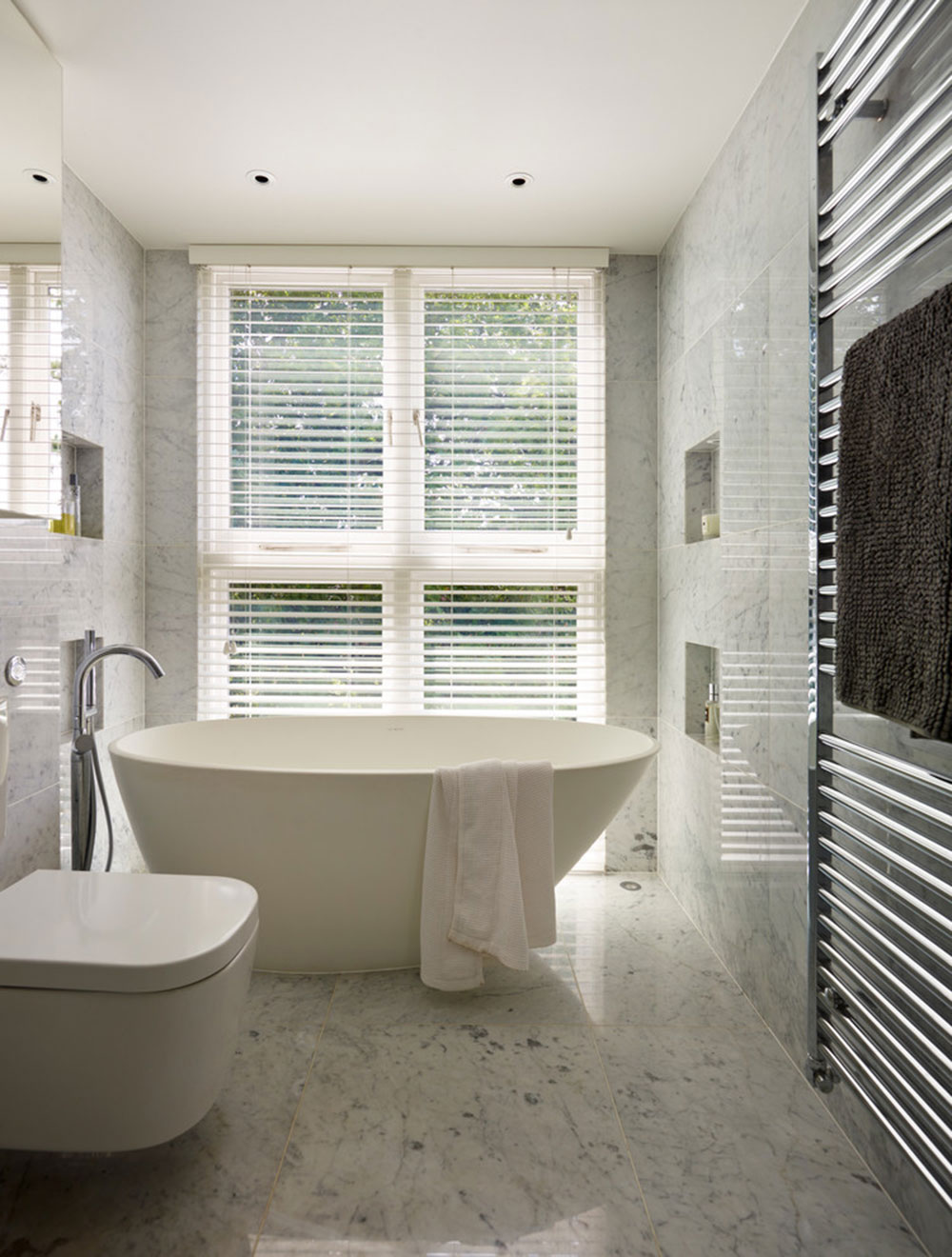 Warm Houses With These Marble Bathroom Design Ideas5 Beautify