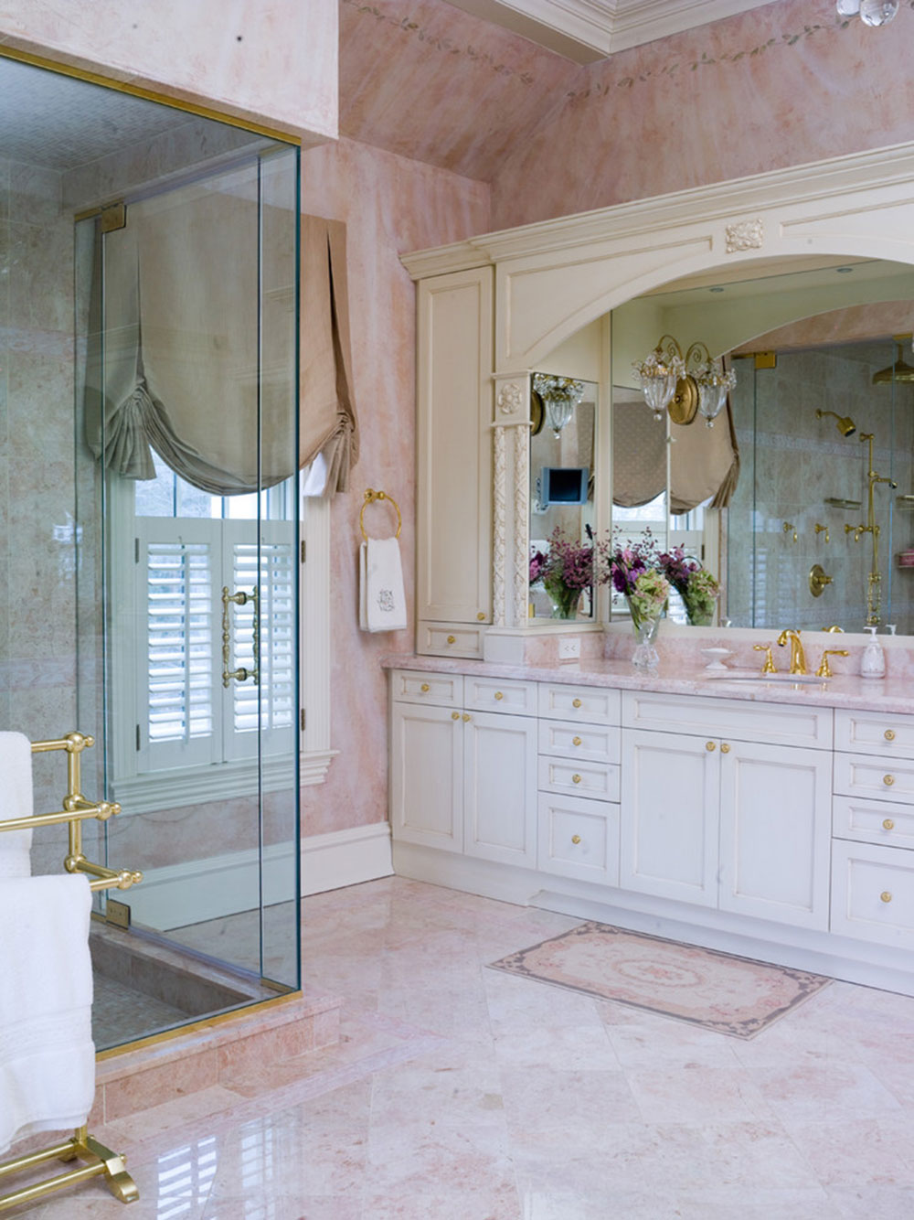beautify houses with marble bathroom design ideas