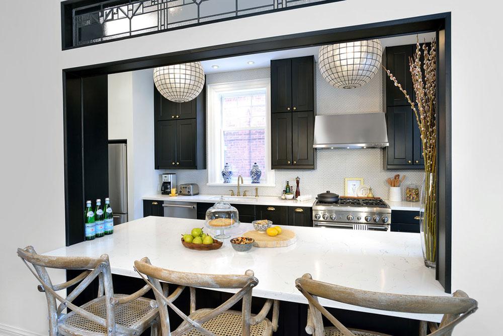 Bright Your Kitchen With Sparkling White Quartz Countertop5