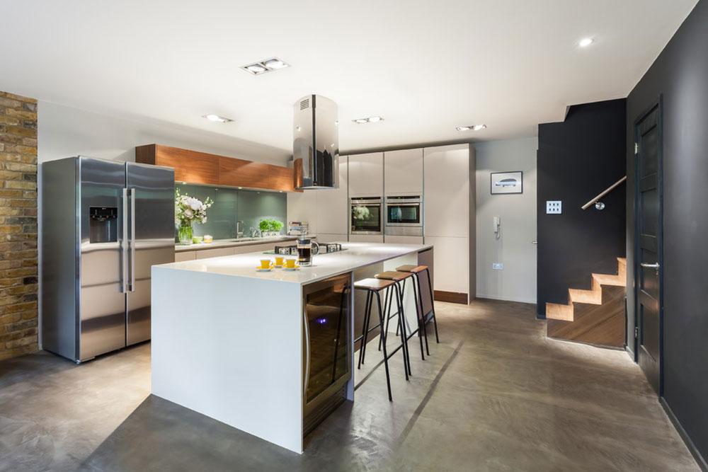 Sparkling White Quartz Countertop For Your Kitchen Design