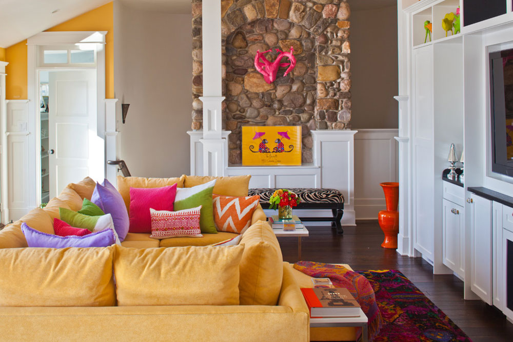 Decorating With A Yellow Couch Color Of The