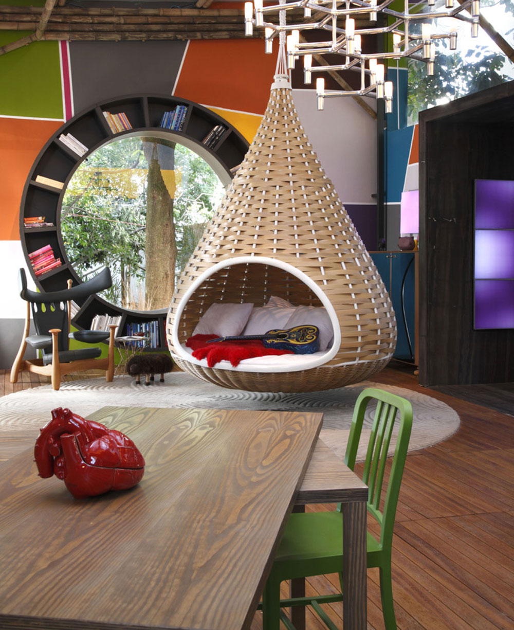 Indoor And Outdoor Cocoon Chairs For More Comfort1 Indoor