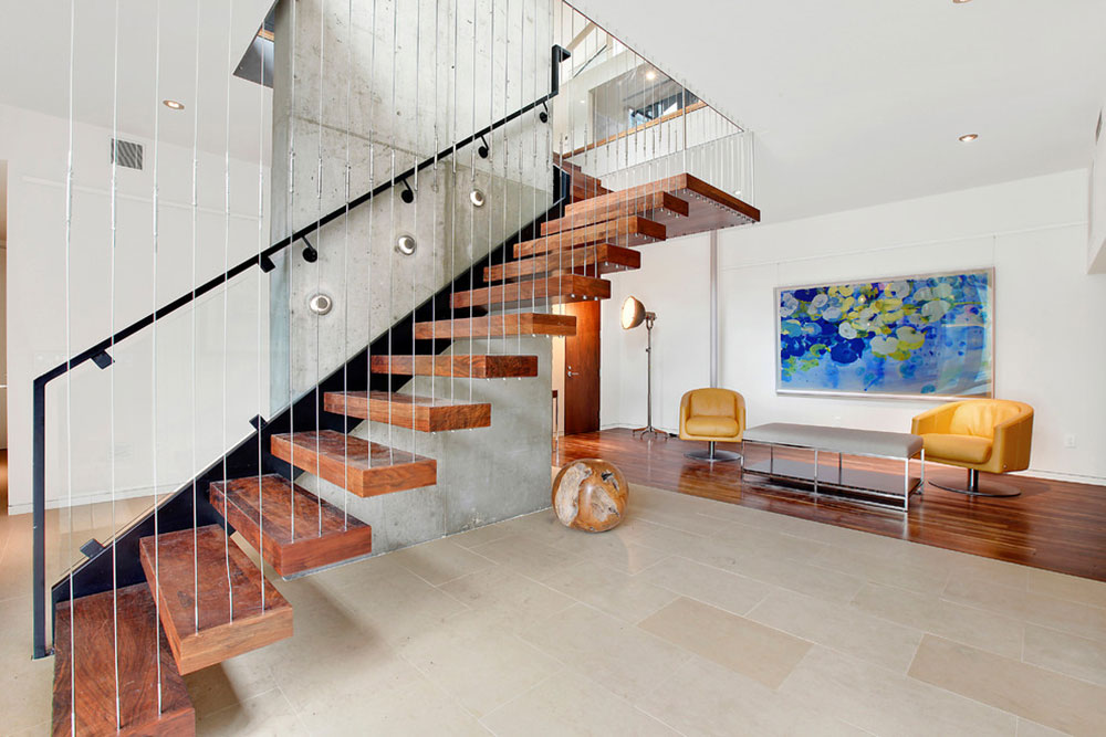 Modern And Exquisite Floating Staircase8 Modern And Exquisite Floating  Staircase Designs