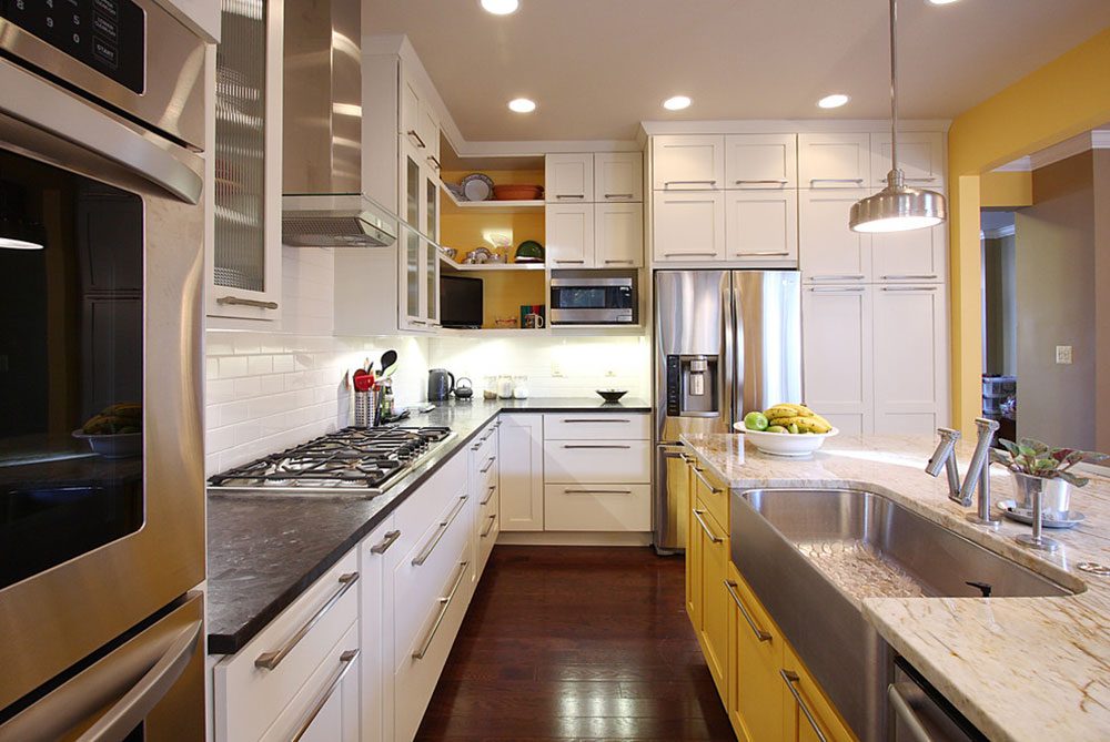 Kitchen Cabinets Two Colors two tone kitchen cabinets: a concept still in trend