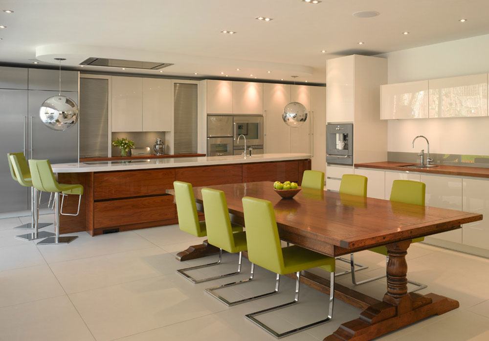Two Tone Kitchen CabinetsA Concept Still In Trend15