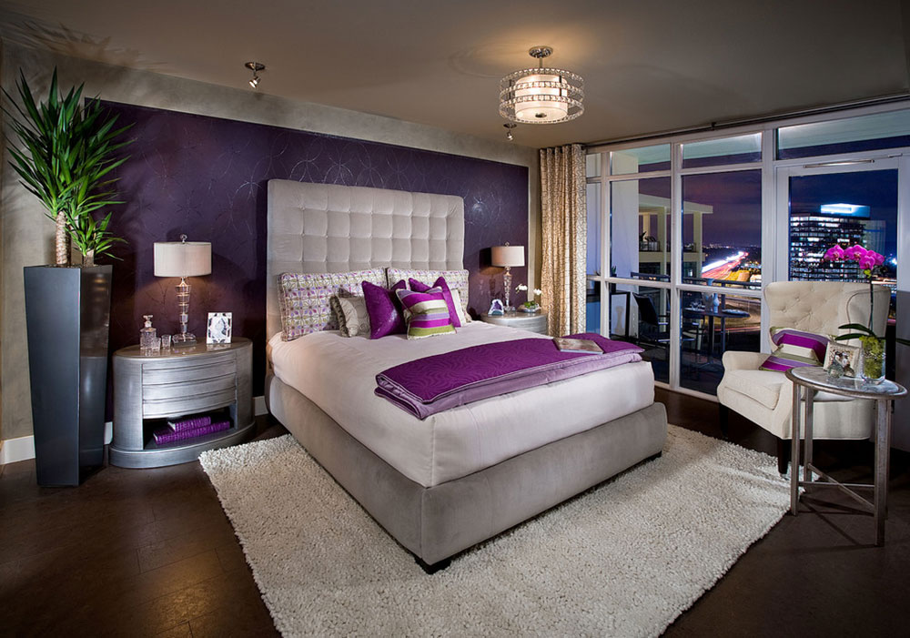 Royal Purple Bedroom Ideas Part - 16: Royal Purple Bedrooms. An-Entire-Palette-Of-Bedroom-Color-Combinations13  Bedroom Color Combinations