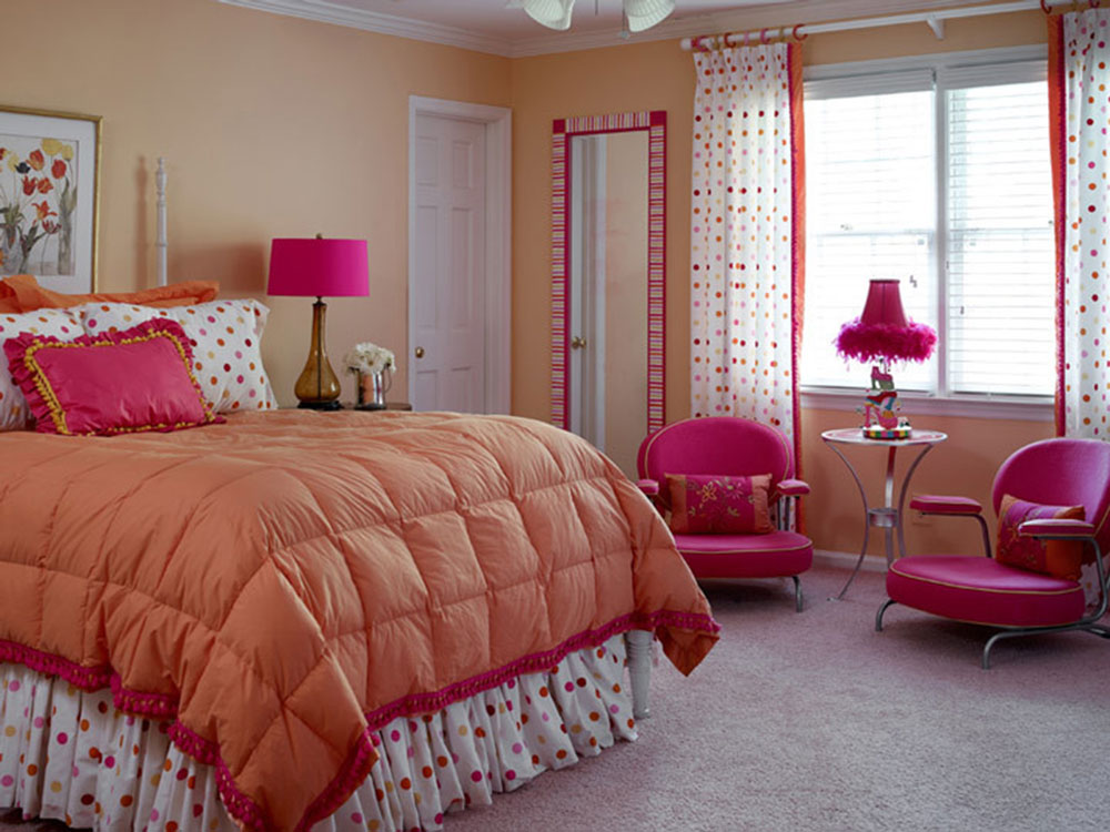 girl bedroom colors. An Entire Palette Of Bedroom Color Combinations15 Combinations To Choose From