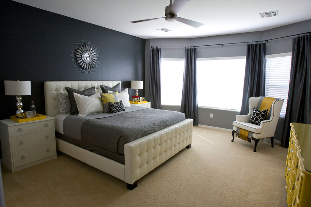 Bedroom Color Combinations To Choose From - Bedroom color schemes with brown furniture