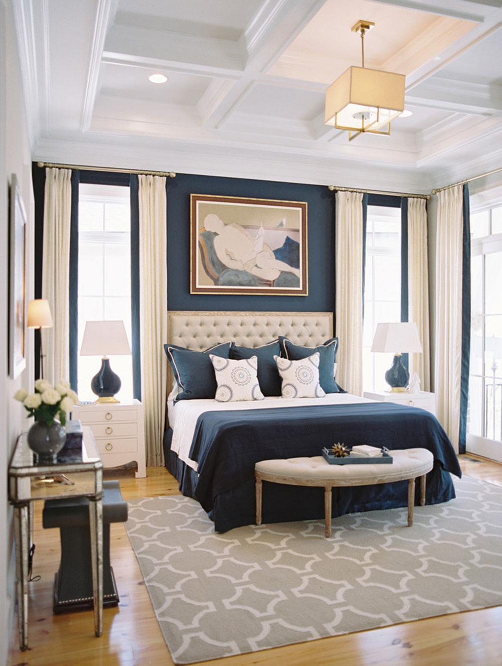 An Entire Palette Of Bedroom Color Combinations5 Combinations