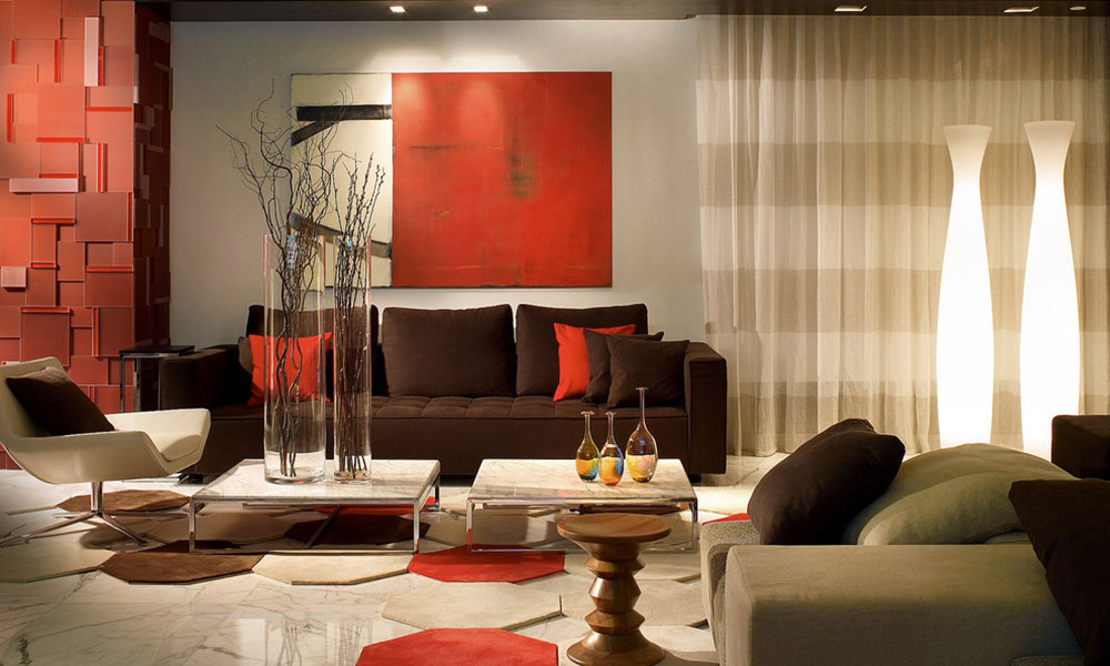 Complementary Colors Interior Design the attractive brown complementary color for your new home