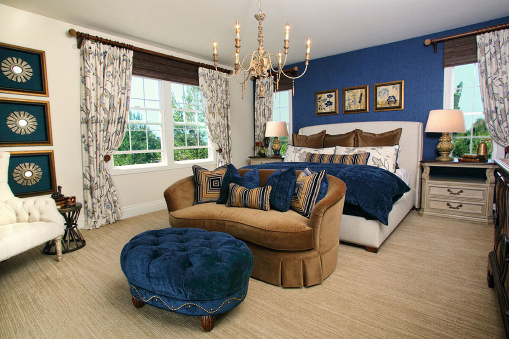 bedroom colors brown and blue. Attractive Brown Complementary Color For Your New Home5 The Home