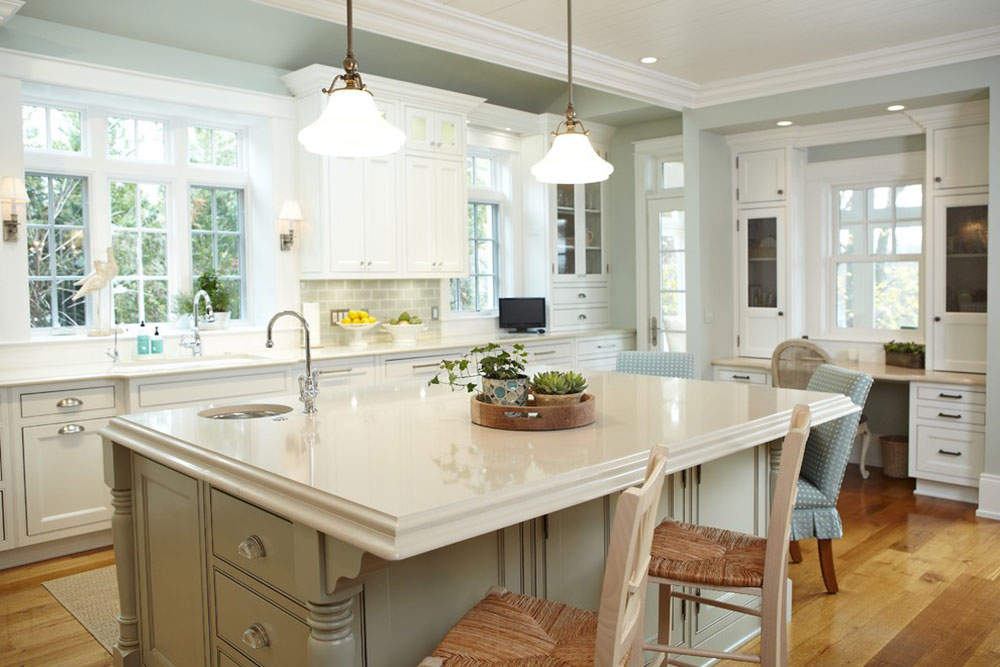 Superbe Bright Your Kitchen With Sparkling White Quartz Countertop17 Sparkling