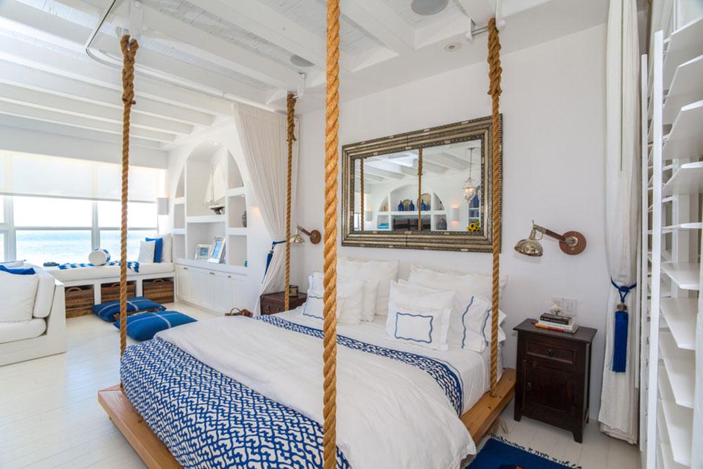 modern hanging beds
