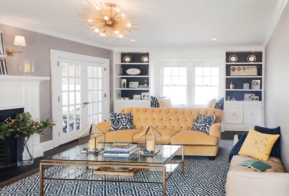 Decorating With A Yellow Couch