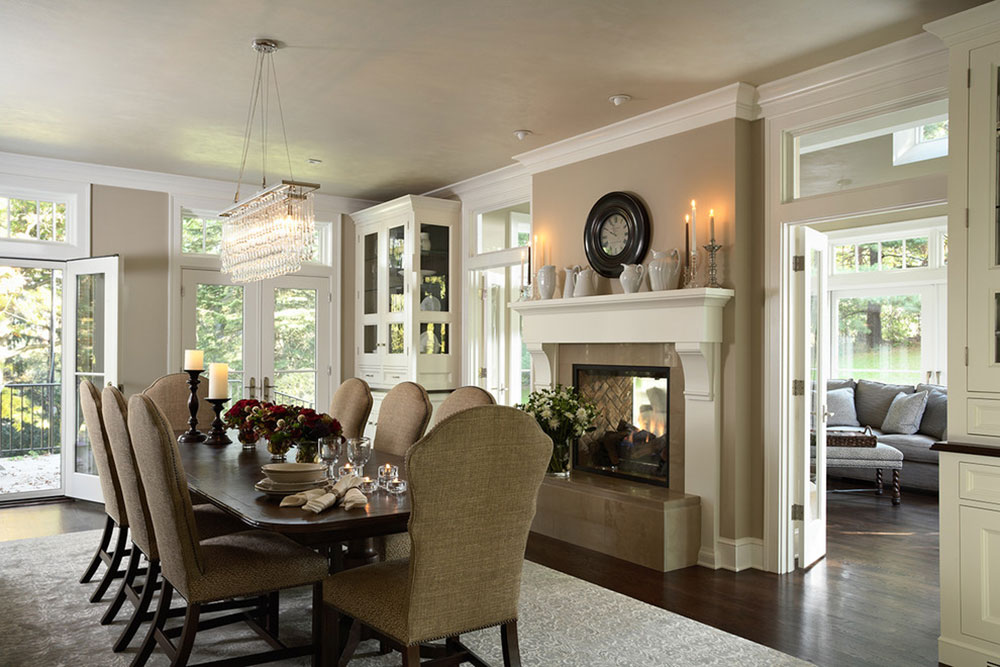 A new and efficient trend that is gaining momentum are 2 sided fireplaces