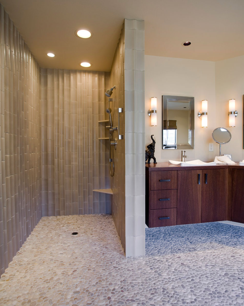 Open Shower Designs enrich your life with these modern shower designs