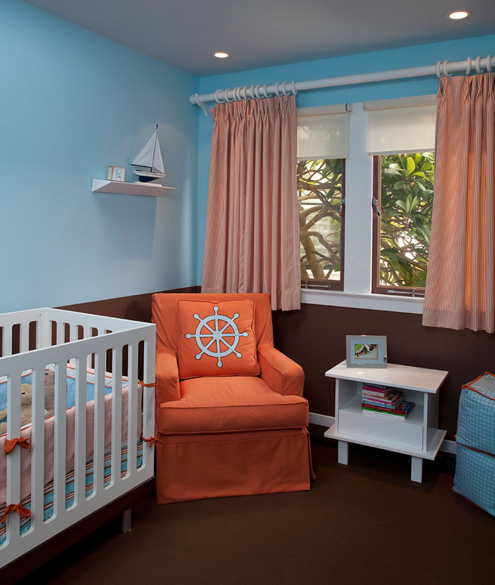 Baby Room Colour Combinations