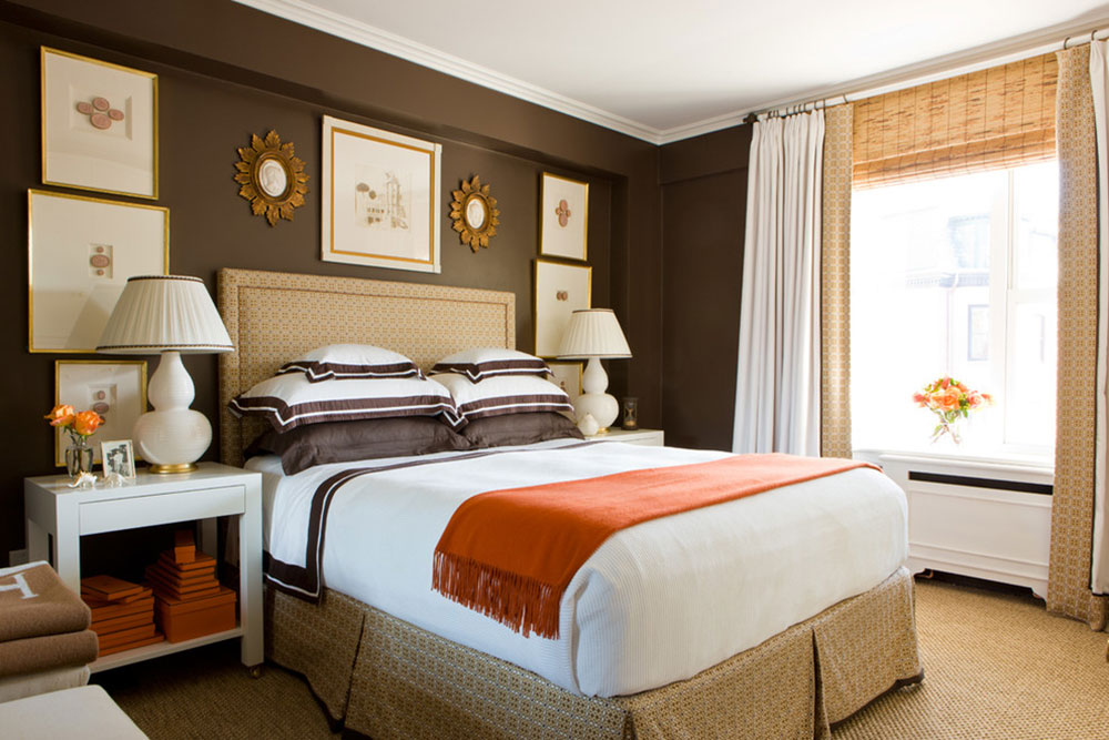 examples of what color goes with orange4 examples of what - Orange And Brown Bedroom Ideas