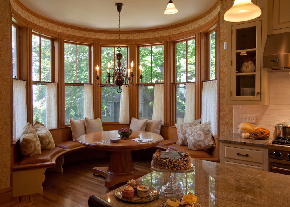 Homey Feelings With These Bay Window Decor 5 Bay