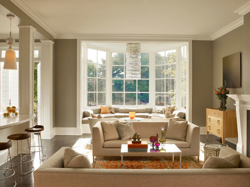 Charming Homey Feelings With These Bay Window Decor 7 Bay