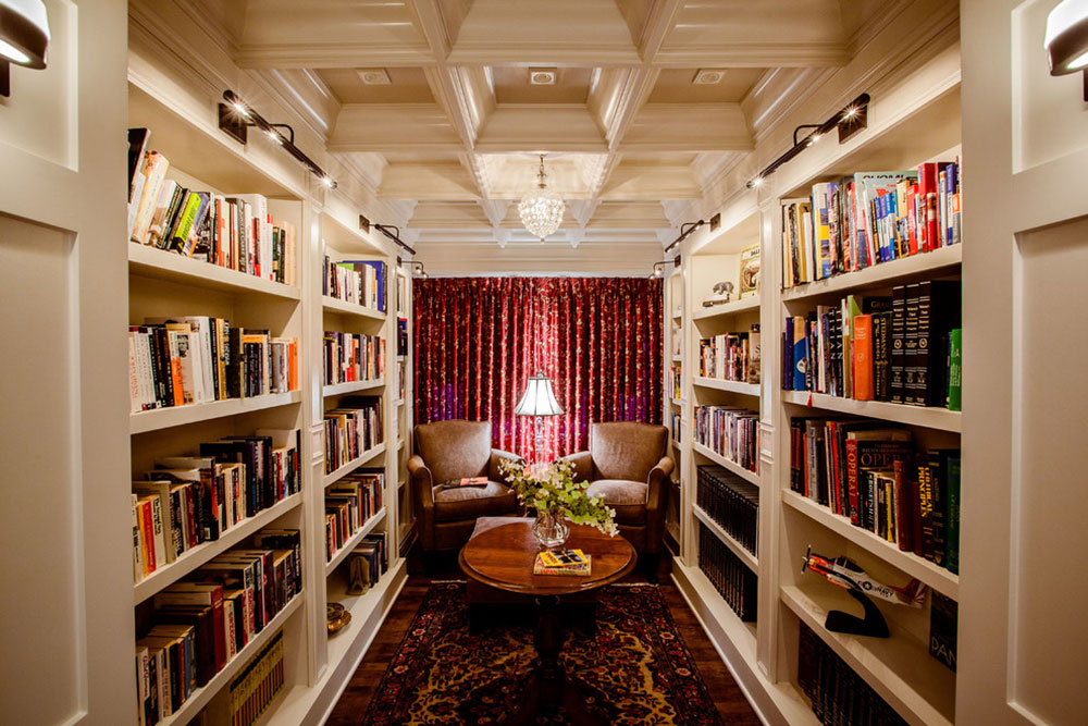 Impressive home library design ideas for 2017 for Small reading room design ideas