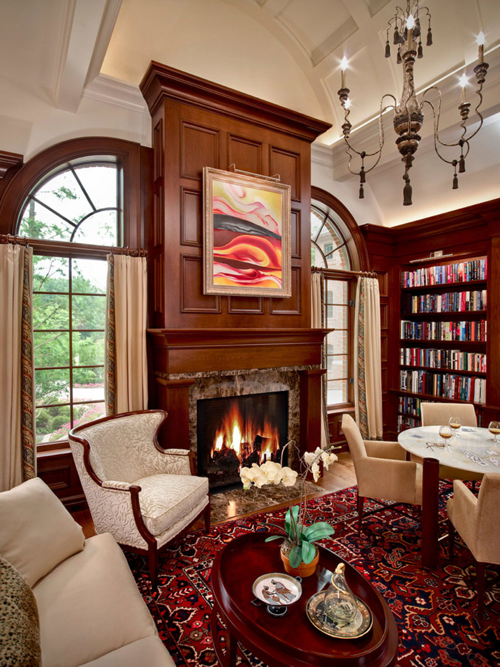Impressive Home Library Design Ideas For 2017 10 Impressive