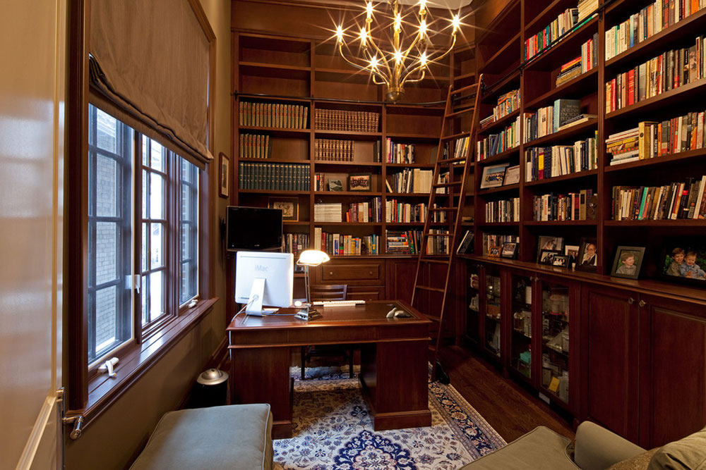 Best home library designs libraries