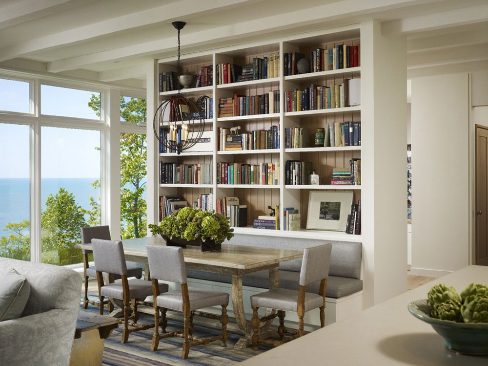 Impressive Home Library Design Ideas For 2017 16